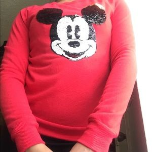 MICKEY MOUSE ❄️red sweater new